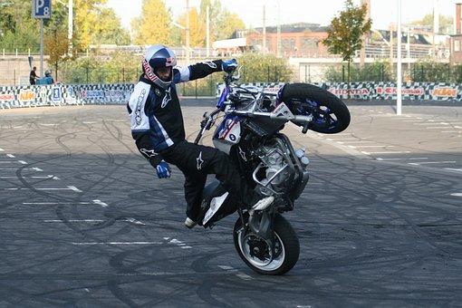 Stunt Show, Intermot, Motorcycle