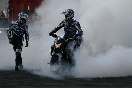 Stunt Show, Motorcycle, Stuntman