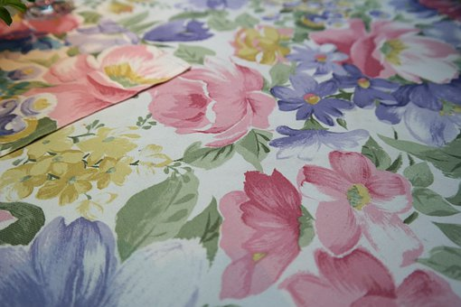Tablecloth, Flowers, Pattern, Floral Design, Cloth