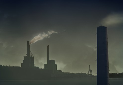 Chimney, Pollution, Air Pollution, Environment, Power
