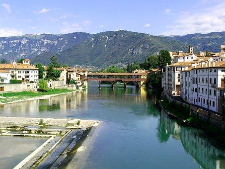 Bassano Del Grappa, Bridge Alpini, Bridge, Alpini