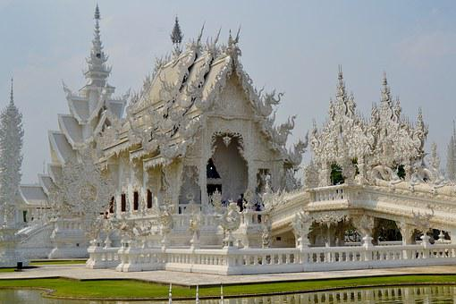 Chiang Rai, Temple, Thailand, Buddhism, Architecture