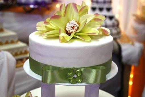 Composition, Cake, Wedding, The Ceremony, Arrangement