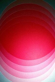 Roundels, Circle, Overlapping, Red