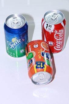 Aluminum, Can, Coca, Cola, Drink, Fanta, Lemon, Orange