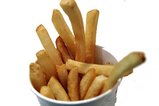 French Fries, Fried Fries, Fried Potato, Junk Food