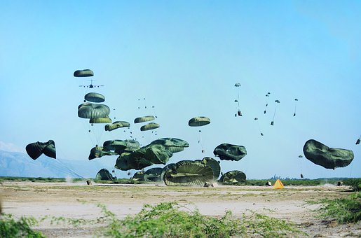 Air Supply, Round Caps, Haiti, Parachutes