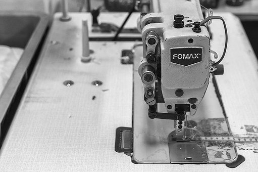 Machine, Sewing, Fact, Hand, Manufactures, Workshop