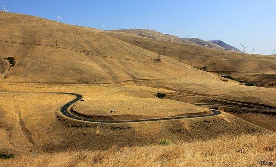 Winding Road, Curvy Road, Curve, Winding, Highway