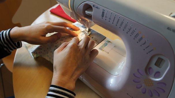 Sewing Machine, Handicraft, Housewife