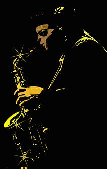 Jazz, Player, Sax, Music, Instrument, Blues, Concert