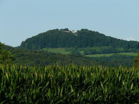 Castle Scharfenberg, Hilltop, Scharfenberg, Donzdorf