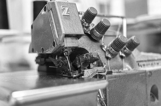 Machine, Fact, Hand, Workshop, Sewing