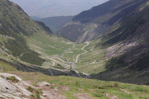 Romania, Carpathian Mountains, Pass, Transfagaras