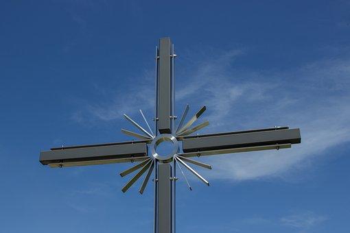 Cross, Faith, Wayside Cross, Religion, Christianity