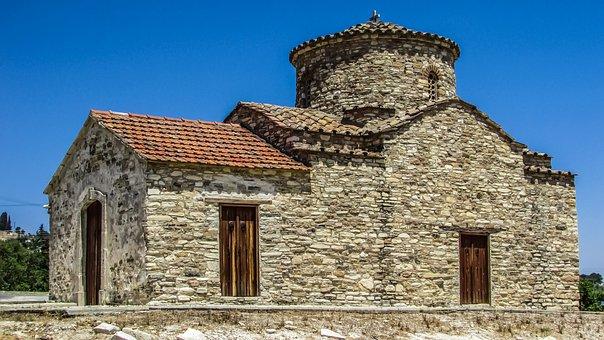 Cyprus, Kato Lefkara, Archangel Michael, Church