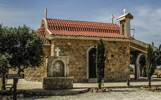 Cyprus, Vrysoules, Chapel, Archangel Michael, Orthodox