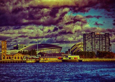 Glasgow, Hydro, Armadillo, Clyde, River, Scotland