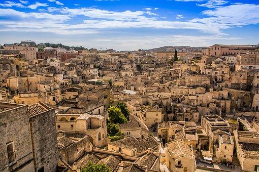 Matera, Italy, Matera Sassi, Atmosphere