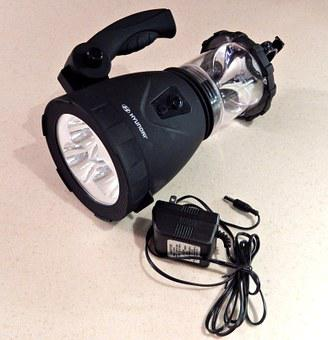 Flashlight, Automobile, Charger, Technology