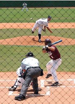 Baseball, Baseball Player, Pitcher, Catcher, Game, Ball