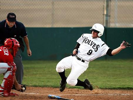 Baseball, Baseball Game, Slide, Competition, Player