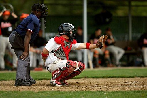 Baseball, Baseball Umpire, Baseball Catcher