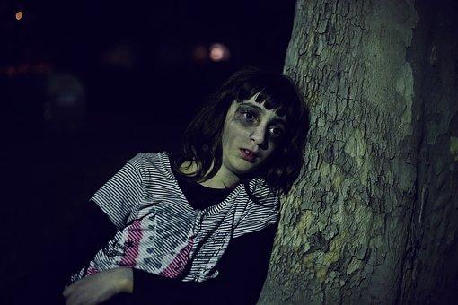Girl, Catrina, Day Of The Dead, Carnival