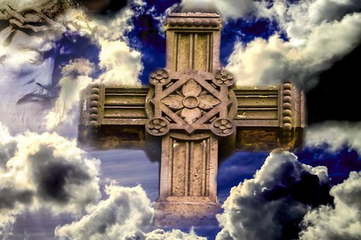 Clouds, Christianity, Cross, Sign Of The Cross, Holy