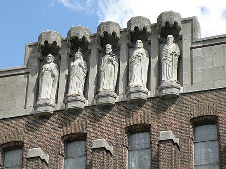 Christus Koningkerk, Antwerpen, Belgium, Church, Detail
