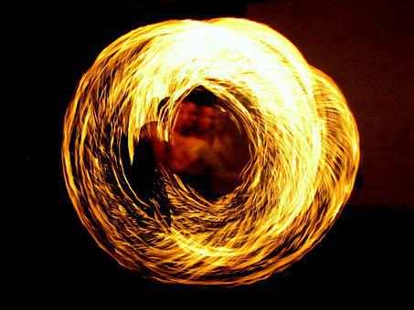 Fire Eaters, Fire Artist, Fire, District, Torch, Flame