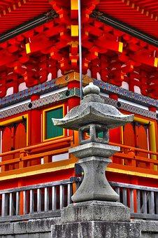 Japan, East, Temple, Spirituality, Asia, Eastern, Paid