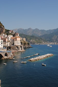 Near Positano, Amalfi, Italy, Positano, Europe, Sea