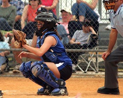 Softball, Girls Softball, Sport, Female, Umpire, Teen