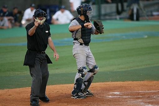 Baseball, Player, Catcher, Ball, Field, Action, Athlete