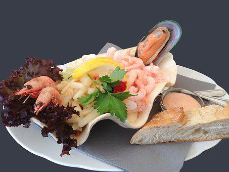 Seafood, Prawns, Refreshments, Fish, Party Food, Food
