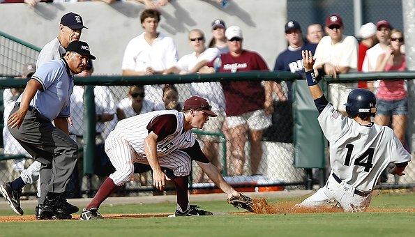 Baseball, Home, Run, Plate, Ball, Field, Game, Sports