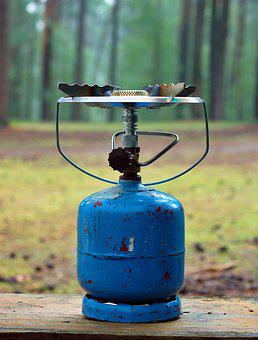 Gas, Gas Cylinder, Torch, Camping, Holidays