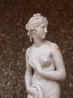 Aphrodite, Venus, Nude, Goddess, Sculpture, Ancient