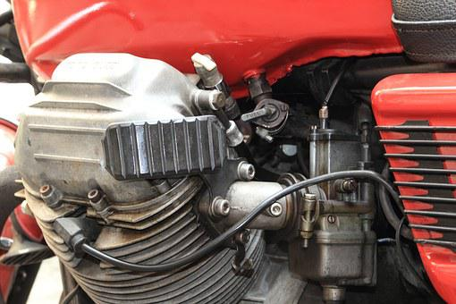Italy, Naples, Motorcycle, Engine, Moto, Guzzi