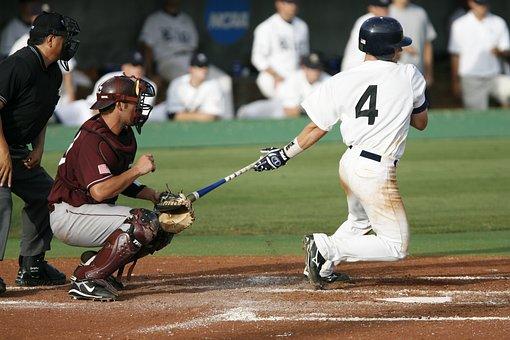 Baseball, Swing, Home Run, Baseball Player, Hitter