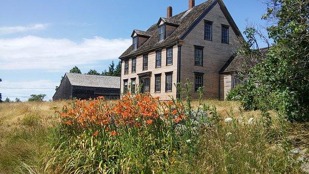 Olson, House, Christina's World, Andrew Wyeth, Cushing