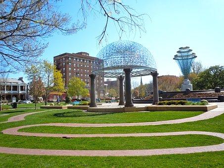 Council Bluffs, Iowa, Summer, Spring, Buildings