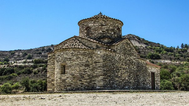 Cyprus, Kato Lefkara, Archangel Michael, Church