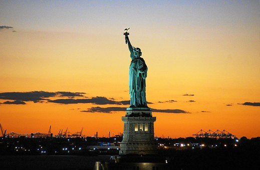 Statue Of Liberty, Liberty, Usa, America, Lady Liberty