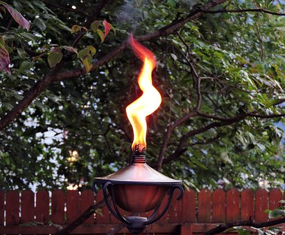Torch, Flame, Fire, Oil Lamp, Lamp, Oil, Lantern