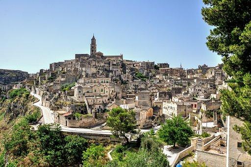 Of Matera Sassi, Landscape, Holidays