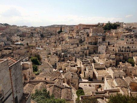 Matera, Italy, Sassi, Unesco, Basilicata, Landscape