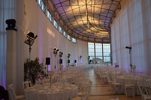 Events, Dinner, Lights, Venu, Tables, Ballroom