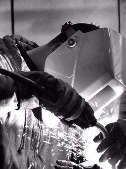 Welding, Man, Work, Welder, Worker, Industrial